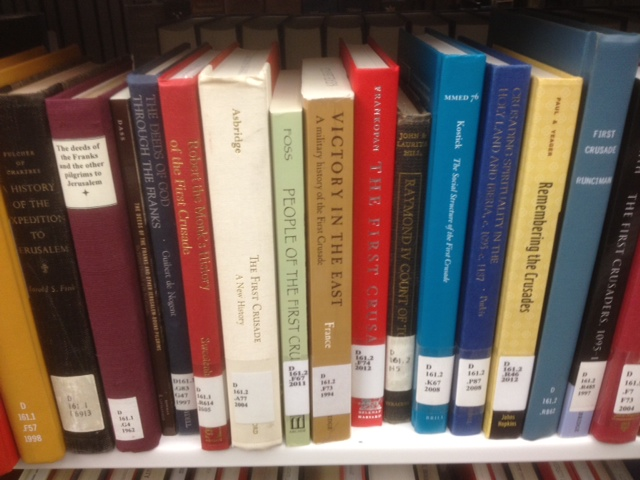 middle ages books at the library