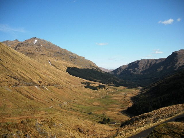 Rest and Be Thankful Pass - Highlands of Scotland