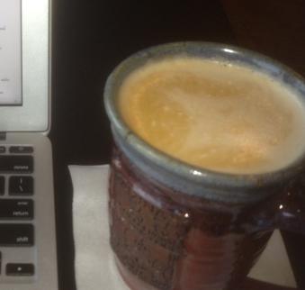 latte at Radinas