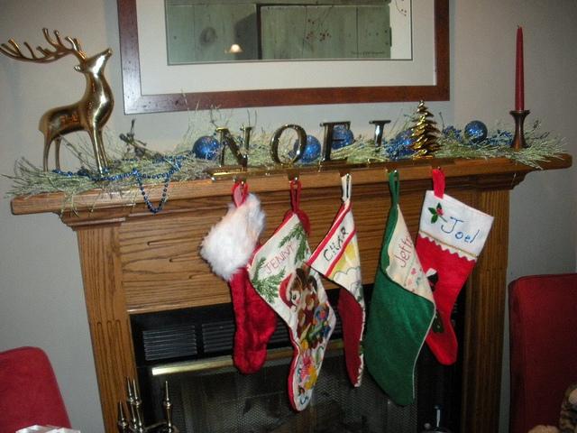 stockings hung