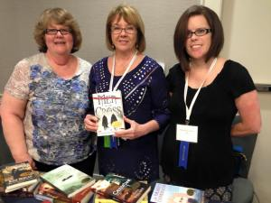 at the indieBRAG booth