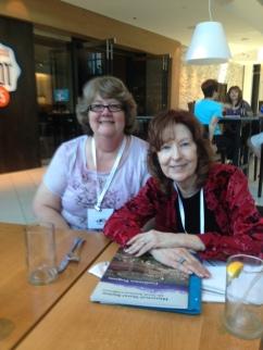 me and Sharon Kay Penman