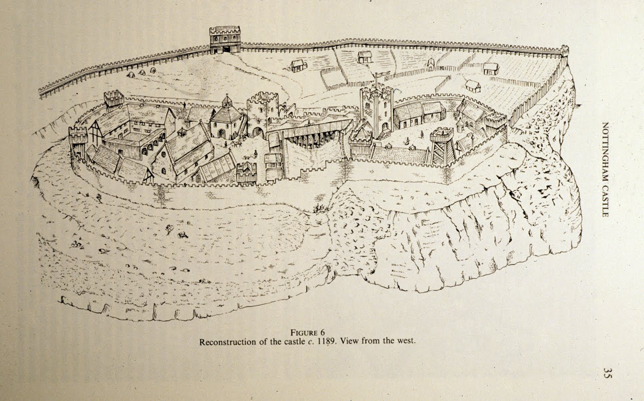 Nottingham Castle c. 1189-2