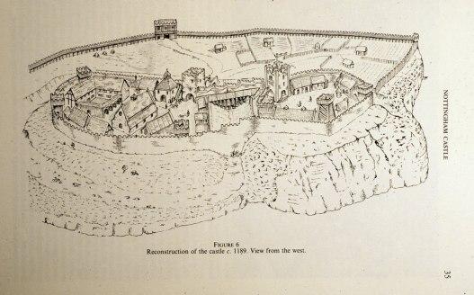 Nottingham Castle c. 1189-2