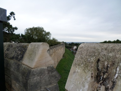 Another section of the Wall Walk