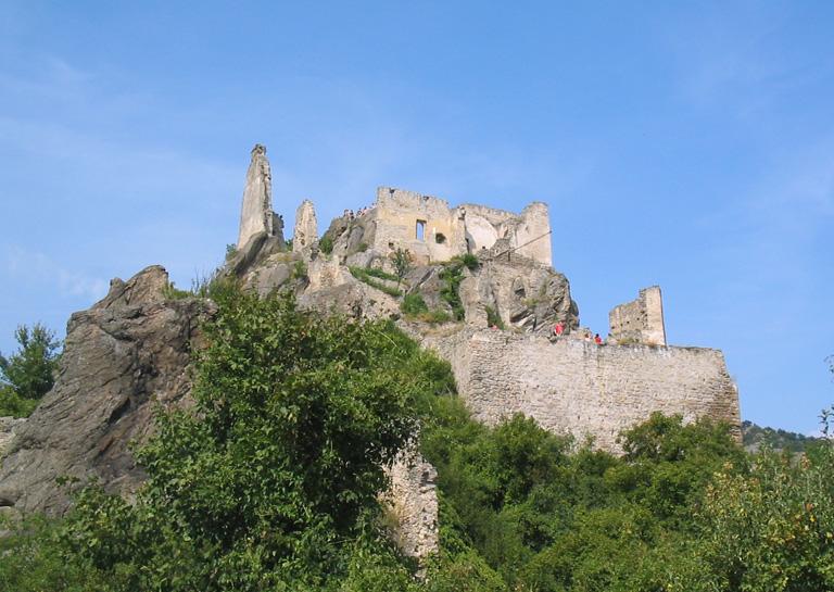 Durnstein_castle